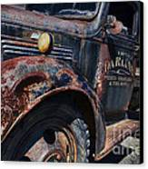 The Darlins Truck Canvas Print