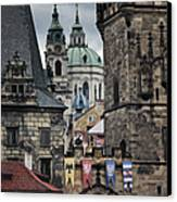 The Depths Of Prague Canvas Print by Joan Carroll