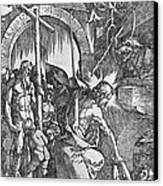 The Descent Of Christ Into Limbo Canvas Print by Albrecht Duerer