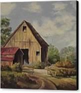 The Deserted Barn Canvas Print