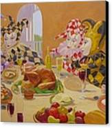 The Dinner Party Canvas Print