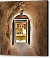 The Door 2 Canvas Print by Dhouib Skander