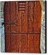 The Door - Vintage Art By Sharon Cummings Canvas Print by Sharon Cummings
