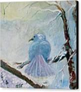 The Dove Canvas Print by Susan Hanlon