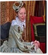 The Duchess Canvas Print by Julie Dant