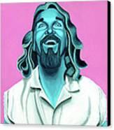The Dude Canvas Print by Ellen Patton