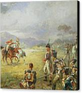 The Duel  Fair Play Canvas Print by Robert Alexander Hillingford