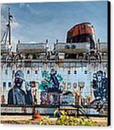 The Duke Of Graffiti Canvas Print by Adrian Evans