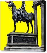 The Duke Of Wellington Yellow Canvas Print