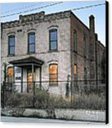 The Duquesne Building - Spokane Washington Canvas Print