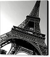 The Eiffel Tower Canvas Print by Olivier Le Queinec