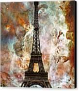 The Eiffel Tower - Paris France Art By Sharon Cummings Canvas Print by Sharon Cummings