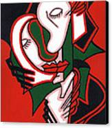 The Embrace Canvas Print by Kamil Swiatek