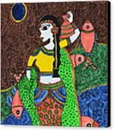 The Enchantress Canvas Print by Shruti Prasad