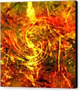 The End - 12/21/2012 - Horrific Hallucination Canvas Print by J Larry Walker