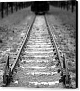 The End Of The Line Canvas Print by Olivier Le Queinec