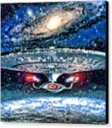 The Enterprise Canvas Print by Joe Misrasi