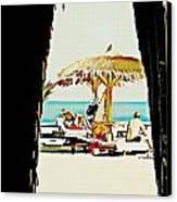 The Expats Canvas Print by Peter Waters