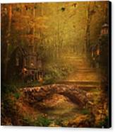 The Fairy Forest In The Fall Canvas Print