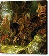 The Fairy Raid Canvas Print