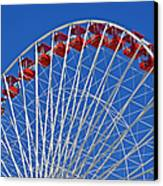 The Ferris Wheel Chicago Canvas Print by Christine Till