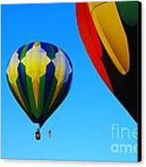 The First One Up  Canvas Print by Jeff Swan