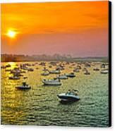 The Fleet Of The Potomac Canvas Print