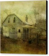 The Forgotten House  Canvas Print by Dianne  Lacourciere