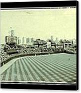 The Friendly Confines Canvas Print by Jame Hayes