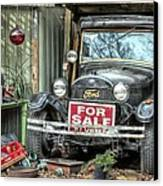 The Garage Sale Canvas Print by JC Findley