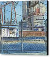 The Gate Canvas Print by Donald Maier