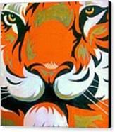 The Gaze Canvas Print by Karunita Kapoor