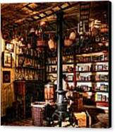 The General Store In My Basement Canvas Print by Olivier Le Queinec