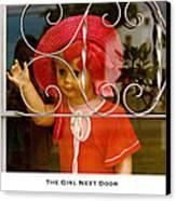 The Girl Next Door Canvas Print