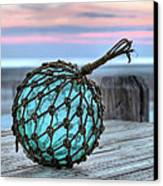 The Glass Fishing Float Canvas Print by JC Findley