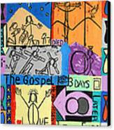The Gospel Canvas Print by Anthony Falbo