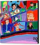 The Gotham Bunch Canvas Print