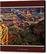 The Grand Canyon Canvas Print by Tom Prendergast