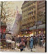 The Great Boulevards Canvas Print