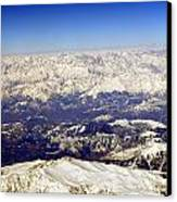 The Great Himalayas- Viator's Agonism Canvas Print
