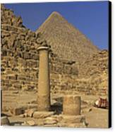 The Great Pyramids Giza Egypt  Canvas Print by Ivan Pendjakov