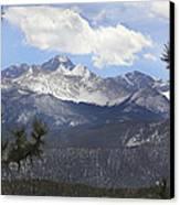 The Rocky Mountains - Colorado Canvas Print by Mike McGlothlen
