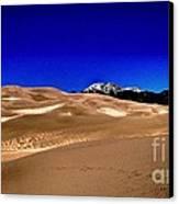 The Great Sand Dunes1 Canvas Print by Claudette Bujold-Poirier
