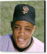 The Great Willie Mays Canvas Print by Retro Images Archive