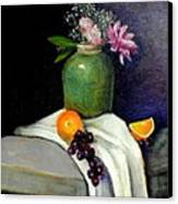 The Green Vase Canvas Print