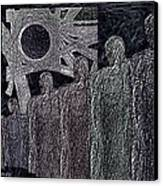 The  Grey  Legions  Canvas Print