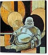 The Happy Buddha Canvas Print