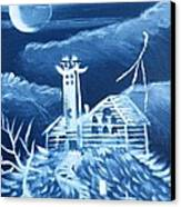 The Haunted Canvas Print by The GYPSY And DEBBIE
