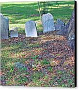The Headstones Of Slaves Canvas Print