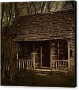 The Hermit's Cabin Canvas Print by Julie Dant